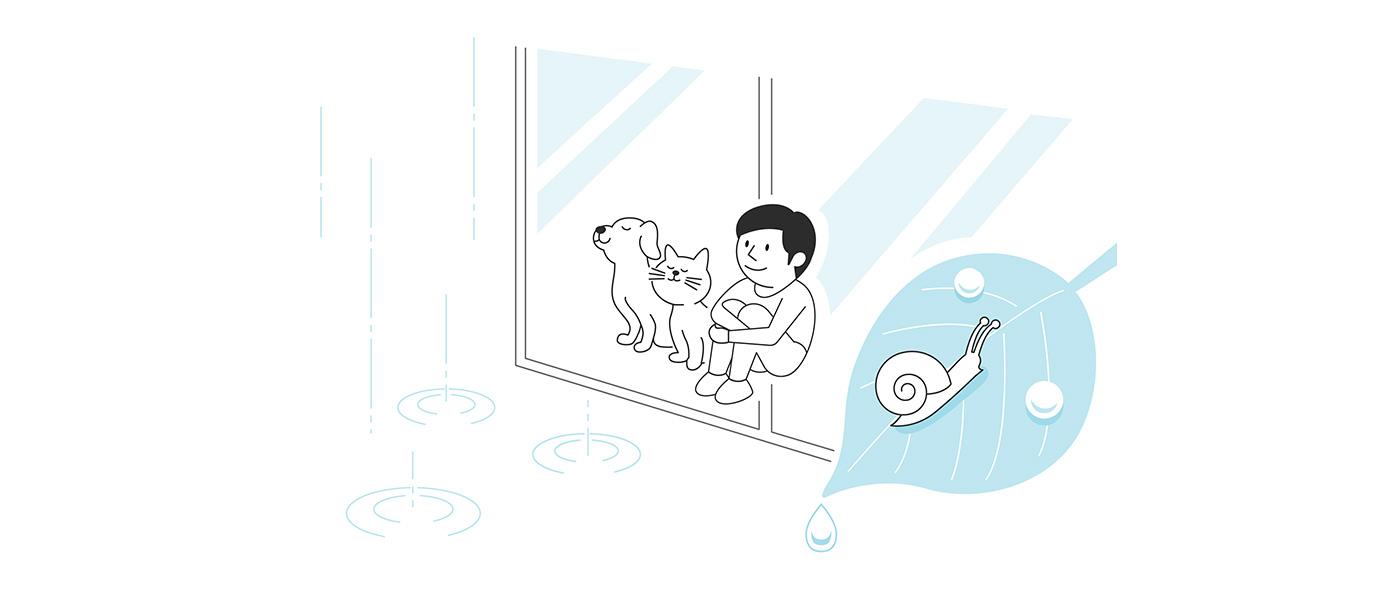 住まいを快適に!梅雨に備える万全対策
